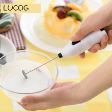 LUCOG Hand Electric Food Processor Food Mixer for Kitchen Portable Blender Egg Beater Juice Muddler Milk Treater Coffee Stirrer(China)