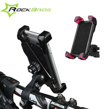 "Rockbros 3.5""-7"" Bicycle Bags Cell Phone Holder Bracket ABS MTB Road Bike Top Frame Front Handlebar Phone Bag Baskets Stand"