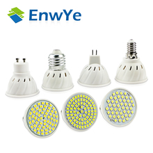 EnwYe Bright E27 E14 MR16 GU10 Lampada LED Bulb 110V 220V Bombillas LED Lamp Spotlight 48 60 80 LED 2835SMD Lampara Spot Light(China)