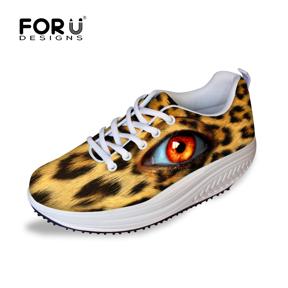 FORUDESIGNS Height Increasing Women Casual Wedge Swing Shoes Fashion Health Beauty Platform Shoes Female Slimming Rocking Shoes<br>