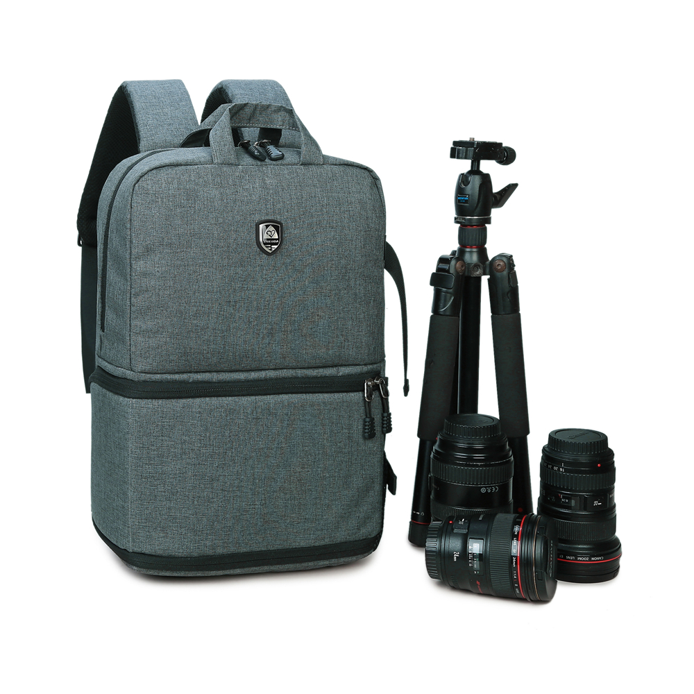 Shockproof Photography Padded DSLR Backpack Student Camera Video Bag Nikon Canon Sony DSLR Camera Lens Accessories