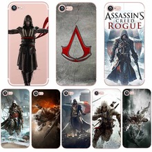 Fundas Assassins Creed Game Movie for iphone 6S 6 7 8 PLUS 5S SE 5 X 10 Cases Mobile Phone Cover Silicone Soft Clear TPU Coque(China)