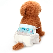 Da Da Xiong Pet Dog sanitary napkins Diapers Dog Health Pants Dry and Breathable dog Nappy Packs size XS-L soft and comfortable(China)