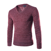 2017 New Spring Autumn  clothing Men Sweaters Pullovers Knitting fashion Designer Casual Man Knitwear