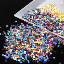 New Fashion Color Powder Nail Decoration Glitter Shimmer Glow Dust Women Beauty Tips Nail Art DIY Tools WY11
