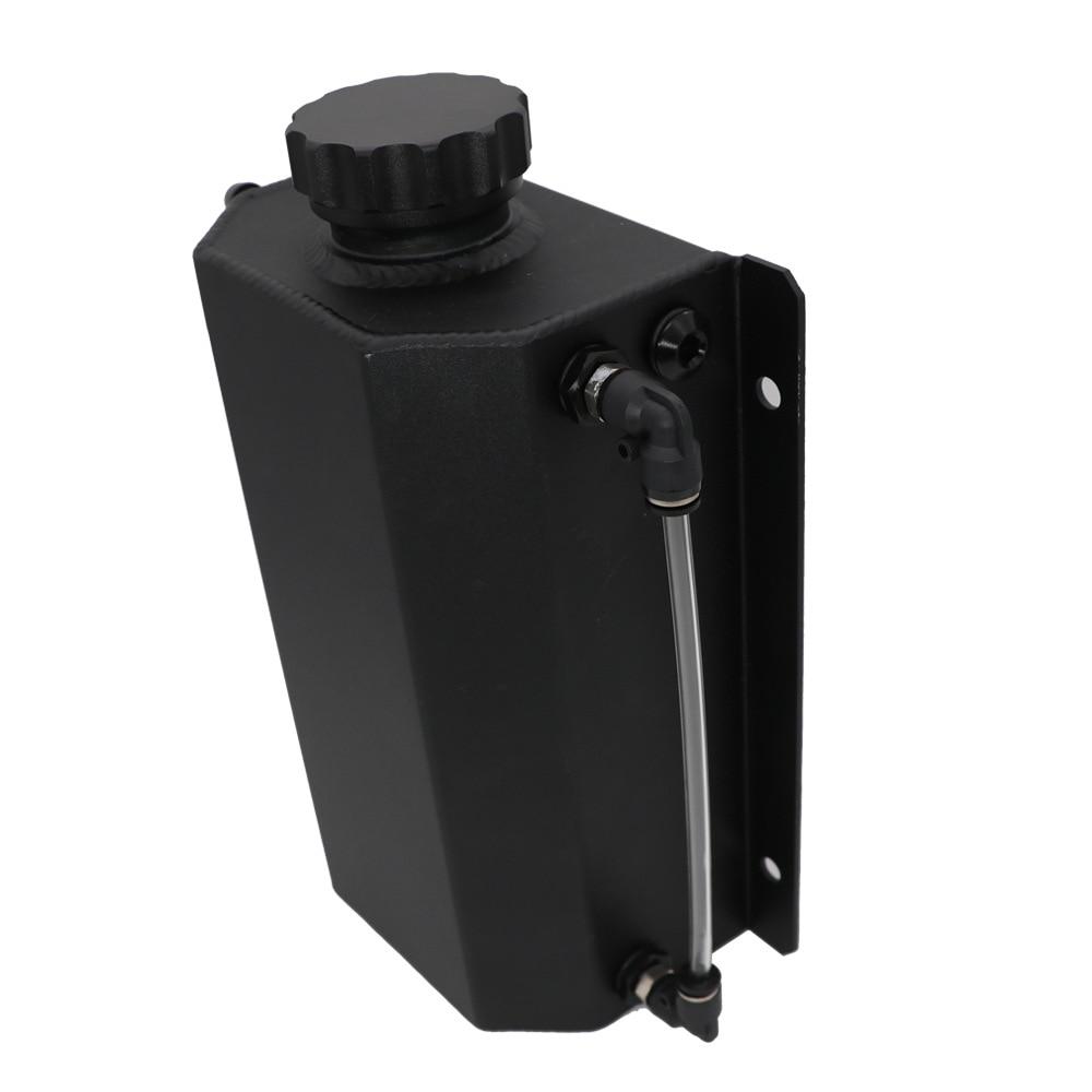 Radiador Alumínio desempenho Garrafa Do Refrigerante de transbordamento Tanque Universal