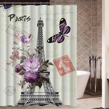 Personality patterns Shower Curtains Fashion beautiful Bathroom Products High Quality Waterproof Shower Curtain P-248