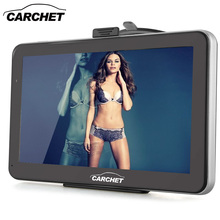 CARCHET Car 7 Inch GPS Navigation 128MB 8GB with West Europe Map FM MP3 MP4 WinCE 6.0 Touch Screen Vehicle GPS 800*480
