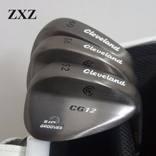 Factory Outlet Golf Wedges CG12 Golf Clubs 50 56 60 Irons Driver Hybrids Putter Clevelan golf wedge(China)