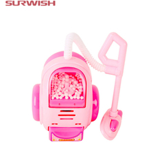 Surwish Educational Toy Mini Electric Dust Collector Children Pretend & Play Baby Kids Home Appliances Toy - Pink(China)