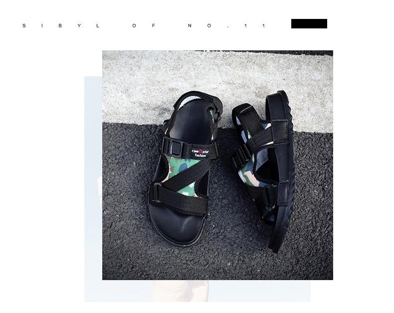 Slippers Men's Sandals Men's Summer Men's Sandals And Slippers Non-slip Beach Fashion Outdoor Wear Drag Trend 71 Online shopping Bangladesh