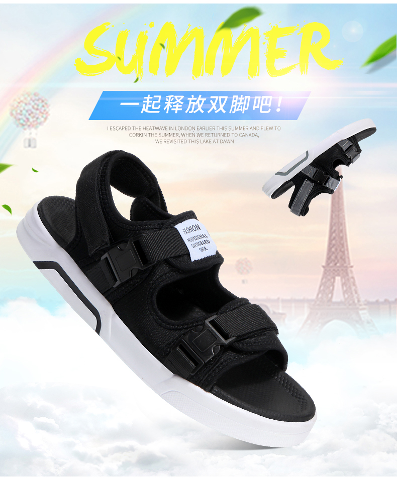 YRRFUOT Summer Big Size Fashion Men's Sandals Outdoor Hot Sale Trend Man Beach Shoes High Quality Non-slip Adult Flats Shoes 46 8 Online shopping Bangladesh