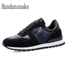 HUNDUNSNAKE 2017 Women Sneakers Ladies Sport Shoes Running Cheap Female Jogging Camouflage Breathable Lightweight Krasovki H-088