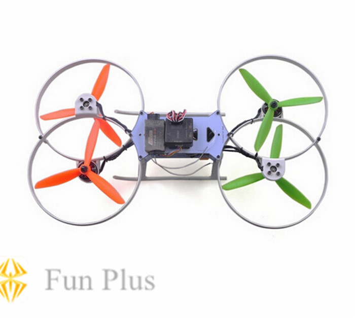 Flymoto295 Mini Racing Quadcopter CC3D APM 2.8 Flying Moto 288mm 4-Axis Frame Kit with PCB Center Board for FPV<br>