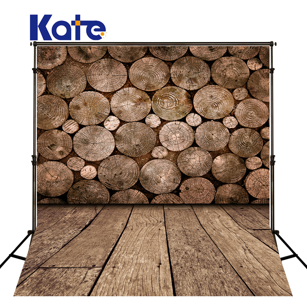 5X7FT Kate Retro Circular Wooden Wall Photography Backdrops Wood Floor Backgrounds for Photo Studio Children Photo Backdrops<br>