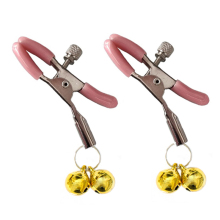 Buy Double Bells Couple Sex Nipple Clamps Erotik Pinzas Pezones Bdsm Fetish Nipple Clamp Couples Sexual Toys Sex Accessories
