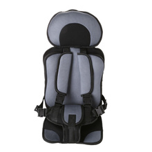 Adjustable Child Car Safety Seats Neck Relief Head Support Potable Kids Chair Updated Version Thickening Sponge Baby Car Seat(China)