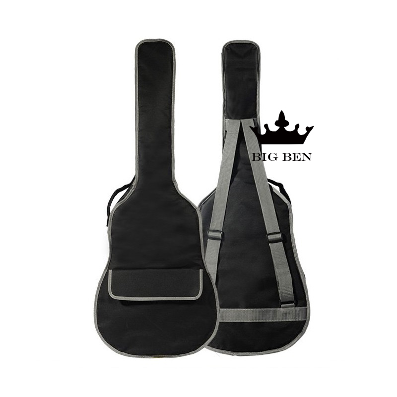 Free shipping 10 mm travel with thick cotton classical folk 39 inches, black guitar bag, 40/41 ballad guitar bags<br><br>Aliexpress
