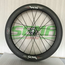 SEMA T700 18inch 355 for birdy wheelset sunrise hub Straight pull bicycle carbon road wheels carbon clincher bicycle parts