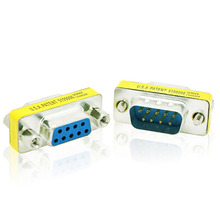 9 PIN Male to Female Gender Changer Converter DB9 Serial Adapter RS232 Connector --M25