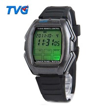 Relogios Masculino TVG Led Watch Touch Screen Panel Led Digital Watch TV/DVD Remote Control Watch With Instructions