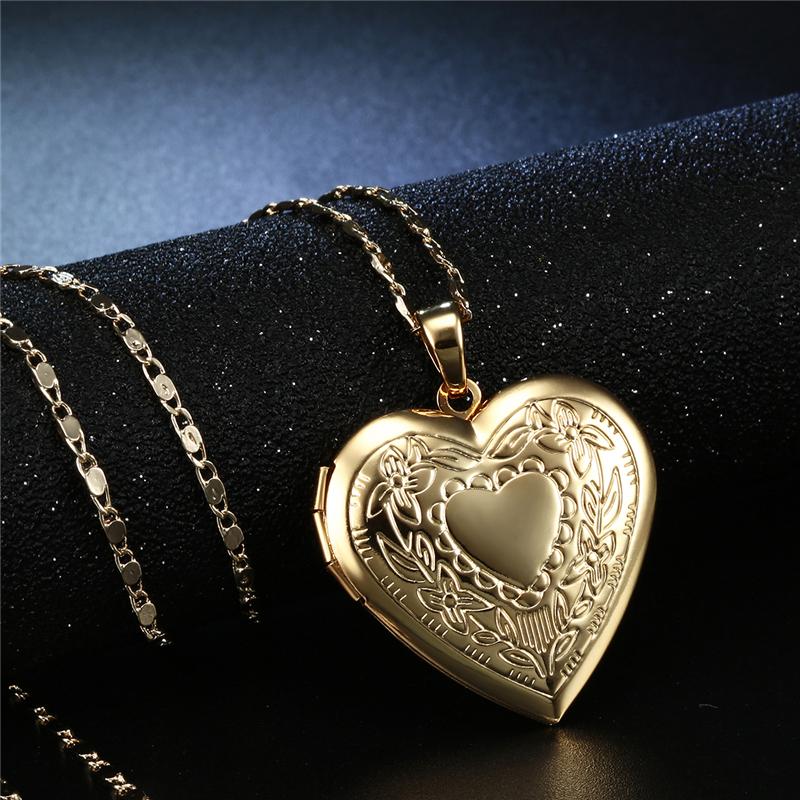 CWEEL Necklaces & Pendants Women Chain Vintage Long Necklace With Big Pendant Gold Color Fashion Statement Necklace  (6)
