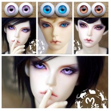 1Pair High Quality Doll Acessories Acrylic Doll Eyes 12MM Eyes BJD 14MM(China)