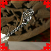 Ethnic jewelry fashion vintage hair accessories,thailand carved Emperor Stones hair jewelry, ethnic hair stickers hairpins