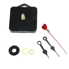 Zero Red Heart Hands DIY Quartz Wall Clock Movement Mechanism Repair Parts