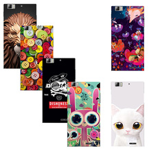 Art Print Flower Case for Lenovo K900 Cell Phone Hard Plastic Protector Funda Capa for Lenovo K 900 Back Cover Skin Shell(China)