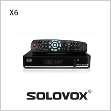 New Arrival 5PCS Genuine S X6 Satellite Receiver/ TV Box Support 2 USB WEB TV IPTV Card Sharing 3G modem Free Shipping(China)