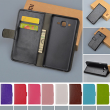 PU Leather Hard Cover Skin For Samsung Galaxy On7 G600 G6000 Case Pouch Flip Wallet Stand Phone Bag with Card holder JR Brand(China)