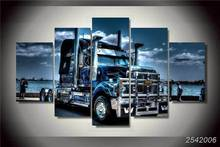 Hd Printed Truck Painting On Canvas Room Decoration Print Poster Picture Canvas Free Shipping/Ny-2160 Christmas Rectangle