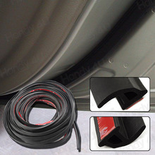 "Free Shipping!! 120"" 10Ft Car Door Rubber Edge Trim Molding Universal Seal Strip P Shape Protector Decoration"