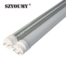 SZYOUMY 2ft 600mm / 4ft 1200mm G13 T8 Led Tube Light 9W 18W 22W High Luminous Flux Led Fluorescent T8 AC85-265V Free Shipping