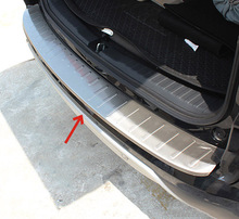 FIT FOR 2015 2016 HONDA CRV CR-V REAR DECK BUMPER PROTECTOR CARGO STEP PANEL BOOT COVER SILL PLATE TRUNK TRIM GARNISH