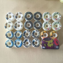 New Original Brand mixed 101A 50-56mm skateboard wheels for pro skateboard deck and skaters with good design Skate wheels