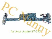 "For Acer Aspire S7-392 Laptop Motherboard 13.3"" Core i5 4210U 1.7 GHz 64 bit 8 GB RAM DDR3L NBMBK11007 48.4LZ02.021"