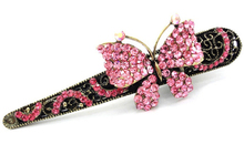 Top Quality Vintage butterfly hairclips Fashion Rhinestones Hair clips hair accessories wholesale 907