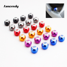 Tancredy 4pcs Car Wheel Tire Valve Caps No.8 Billiards Ball Car Styling For Mercedes BMW AUDI VW Ford Skoda Opel Tire Valve Caps(China)