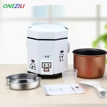 Professional Multifunction Electric Mini Rice Cooker Food Steamer Household Food warmer for Heating and Cooking