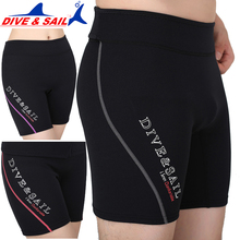 Free Shipping 1.5MM Winter Swimming Diving Swimming Pants Shorts Snorkeling Diving Suit Sailing Surf Rowing Keep Warm(China)