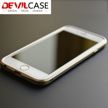Original For iPhone 6s Plus TAIWAN DEVILCASE Aluminum Metal Bumper Protective Frame Ultra Thin Design For iPhone 6 Plus DHL Free