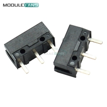 10PCS OMRON Micro Switch Microswitch D2FC-F-7N For Mouse Button Fretting D2F-J Microswitch