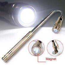 NEW LED Flexible Flashlight Torch Lamp 3LED 360 Degree Magnetic Pick Up Tool Flashlight Camping Torch Lamp lanterna