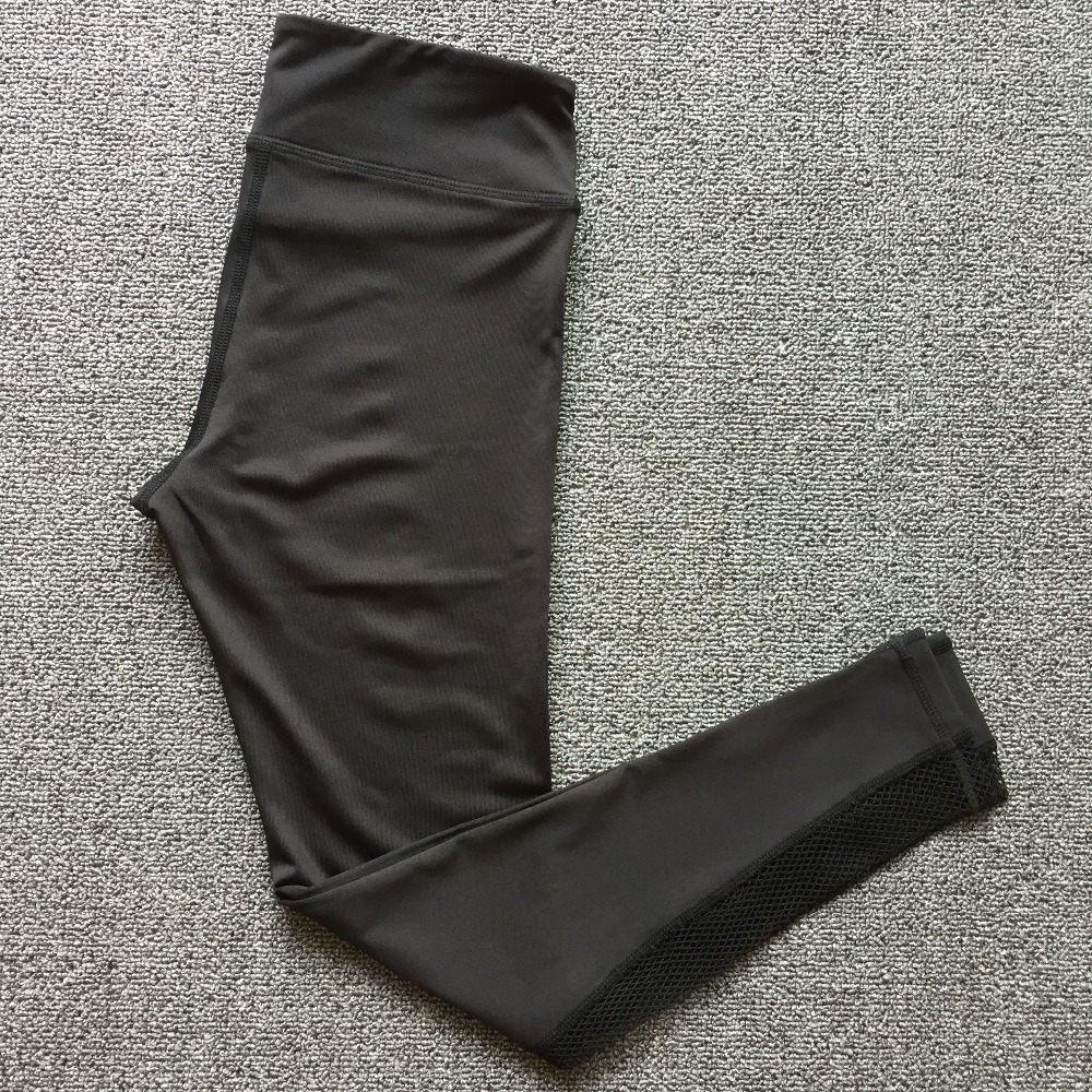 New Women Push-up Sporting Leggings Black Fashion Net Hollow Elastic Skinny Fitness Leggings Sporting Clothing For Women 14