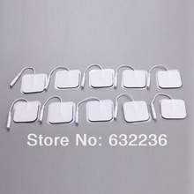 Free Shipping 30pcs/lot(15 pairs) 4*4cm Tens Electrode Pads for Slimming Massage Digital Therapy Machine Massager