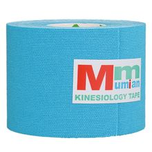 Mumian 5 cm x 3 m Intramuscular effect Tex Tapes Tape Athletic Strapping Intramuscular effect Tape with Case sky blue(China)