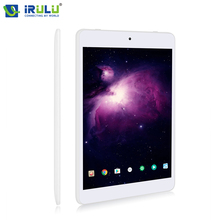 "New iRULU X5 S Tablet Android 7.0 Quad Core 7.85"" IPS HD 16:9 Screen ROM 16GB Daul Cam Bluetooth WIFI GMS Certified Black/White(China)"