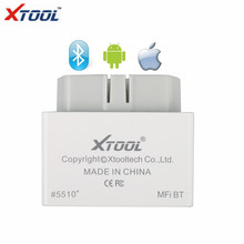 XTOOL iOBD2 Bluetooth OBD2/EOBD Auto Scanner Trouble Code Reader for iPhone/Android Vehicle Diagnostic Tool(China)